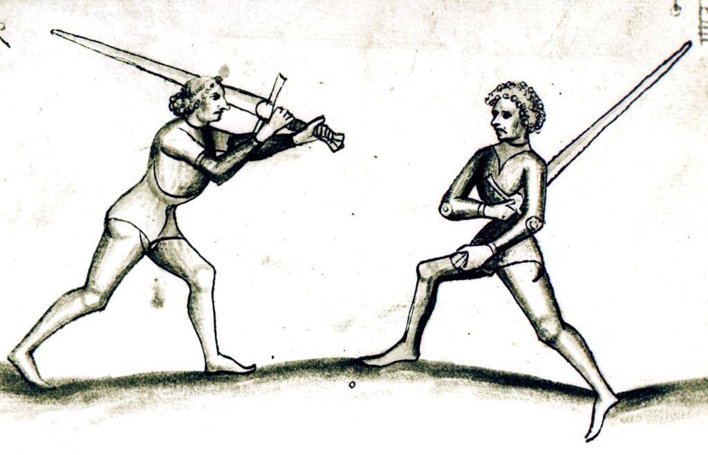 How do you grip a sword?