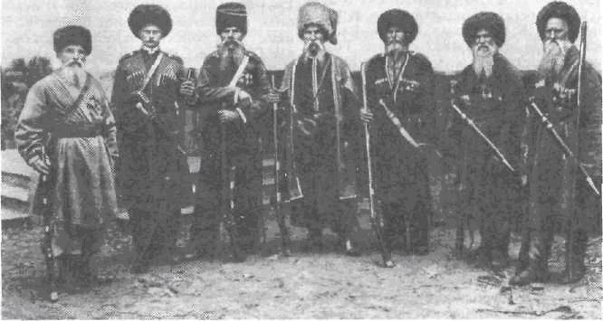 Riders of the Host (Roster) Kuban-Cossacks